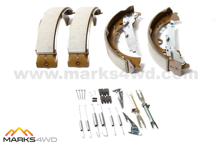 4WD Brake Shoe and Parts Kit to suit Toyota Hilux