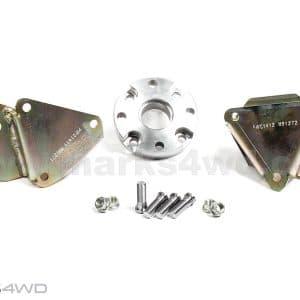 Engine mounts bolt in Chev V8 diesel - Landcruiser FZJ HZJ - MFK1411