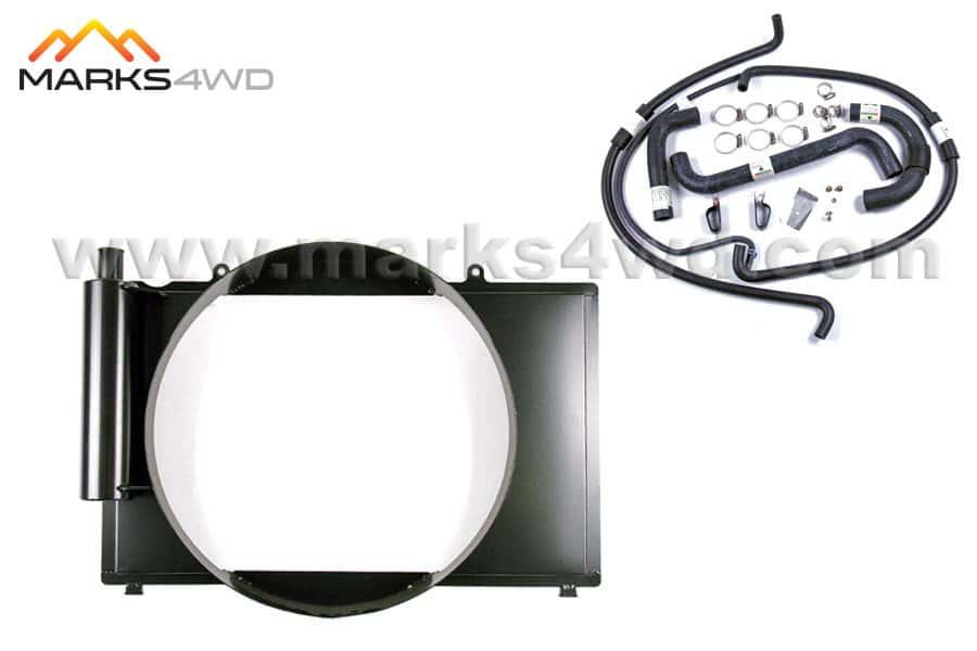 Fan shroud & hose kit - LS1 / LS2 to Landcruiser 105 series