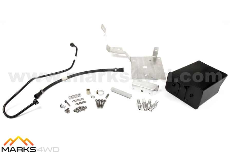 Under Bonnet Bracket Kit & Carbon Canister - LS2 to GU Patrol
