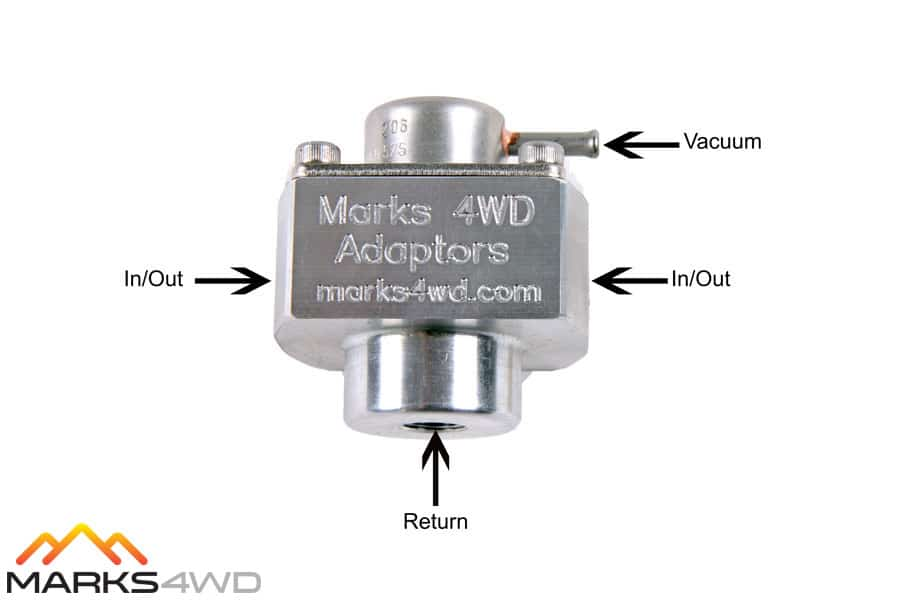 MFC1920 - Inlet and Outlet Diagram