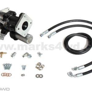 Hydraulic Brake Booster Upgrade - HZJ80 & HDJ80 Toyota Landcruiser (2 bolt master cylinder)