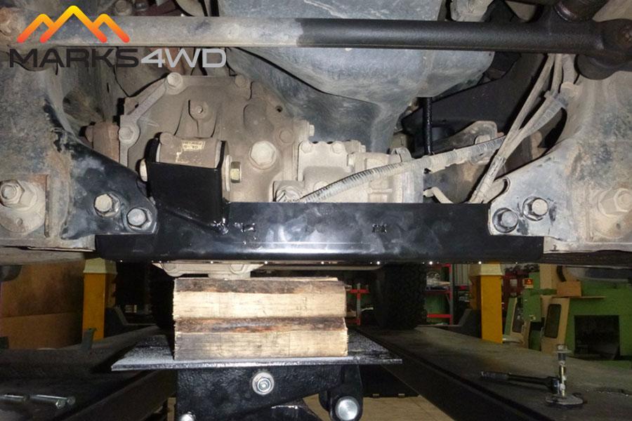 Toyota Hilux 1998-2005 IFS Diff Drop Kit-Installed