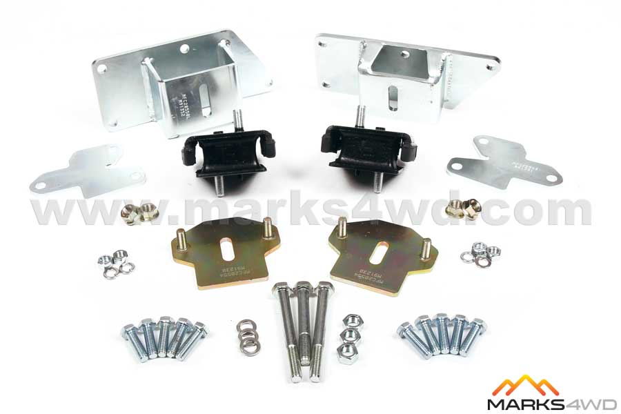 Engine Mount Kit - LS Series V8 to Hilux IFS 98-05 - MFK20550