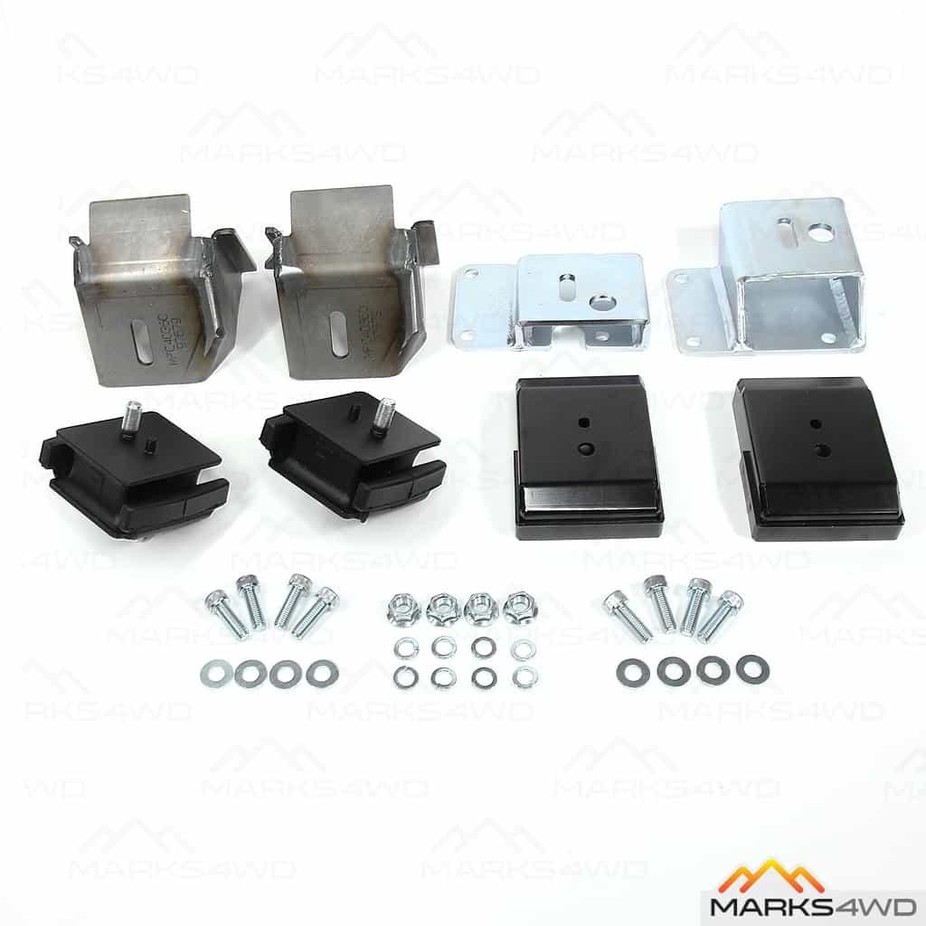 LS series V8 to LandCruiser 60 Series - Engine Mount Kit