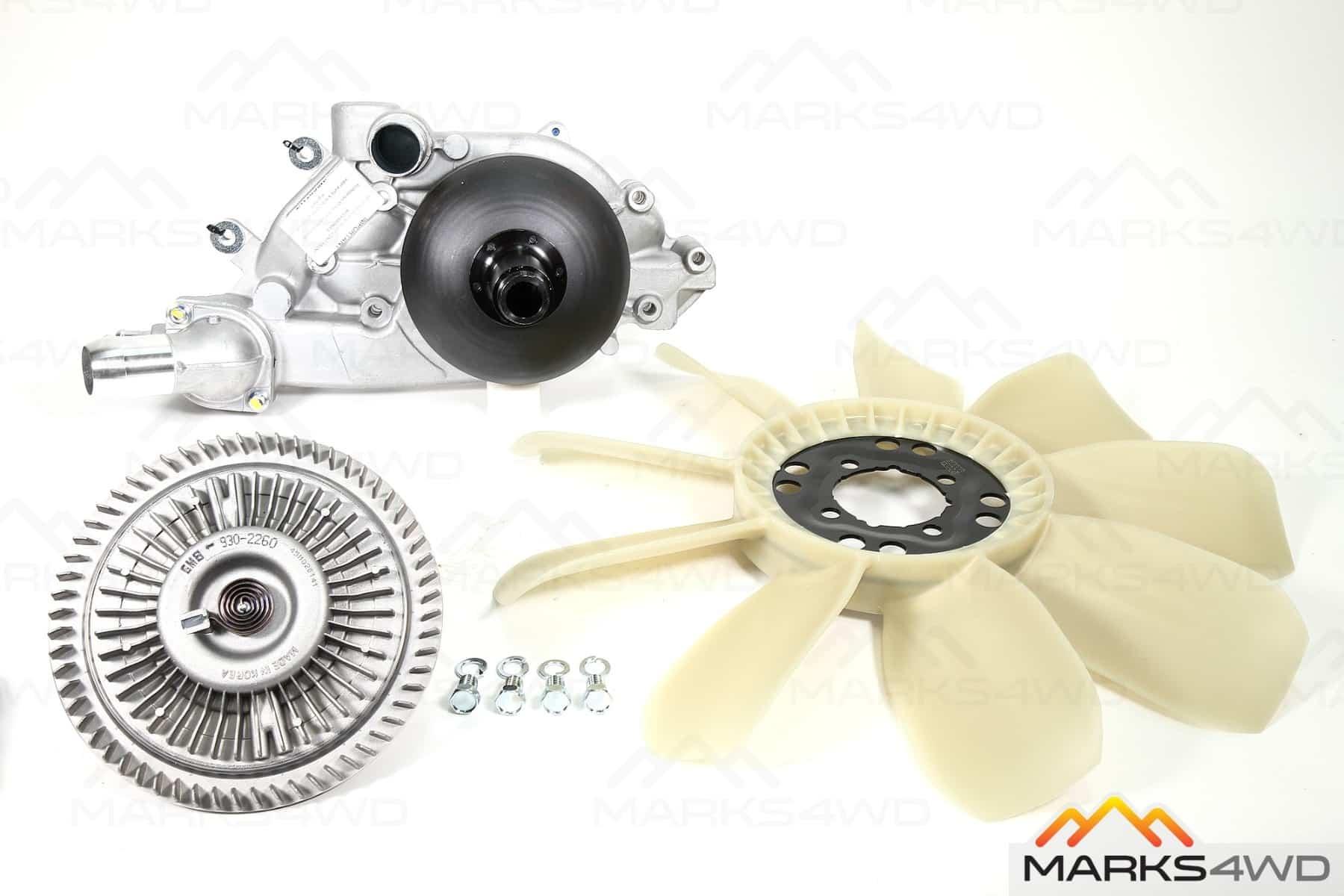 Viscous Fan Assembly - LS Series V8 Engines (LandCruiser / Patrol)