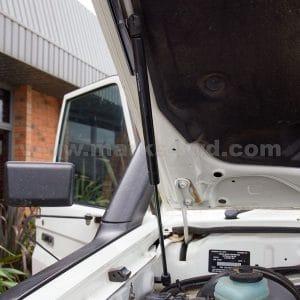Bonnet Strut Kit Passenger's Side Installed