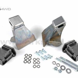 Engine mount kit Chev V8 to Patrol GQ/GU HD