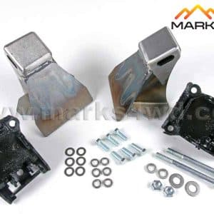Engine mount kit to suit Chev V8 (using rubber mounts) - MFK625CCK