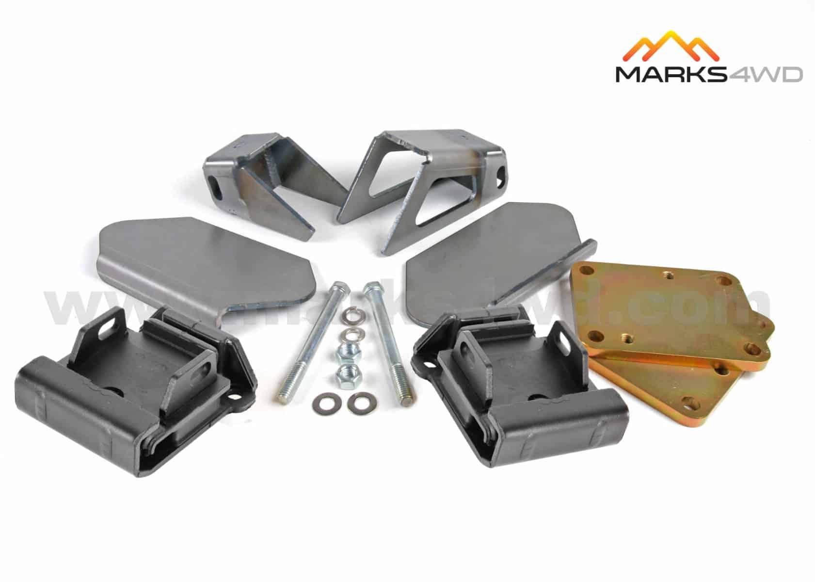 Engine mount kit - LS series V8 to LandCruiser 70 series