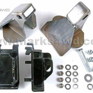 Engine mount kit Holden V8 to LandCruiser 80 series