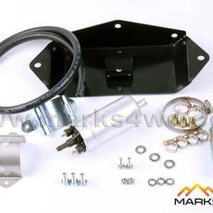 EFI fuel pump, filter & bracket kit - V6 & V8 engines