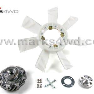 Viscous fan & adaptor - Toyota fan to Chev diesel engine