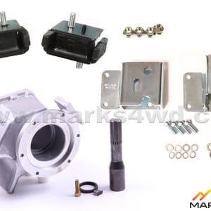 6L80E to LandCruiser 4-speed auto HF2A transfer case - MFP1945A