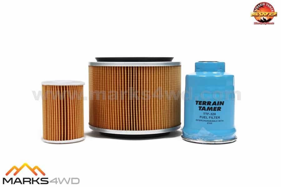 Terrain Tamer Filter Kit Nissan Patrol ZD30