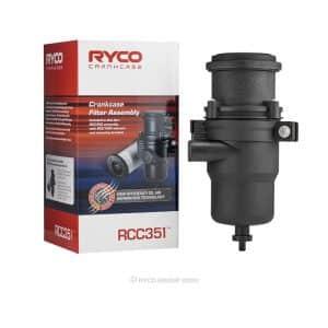 Ryco Catch Can - Diesel Fuel Water Separator - Toyota Prado KDJ150