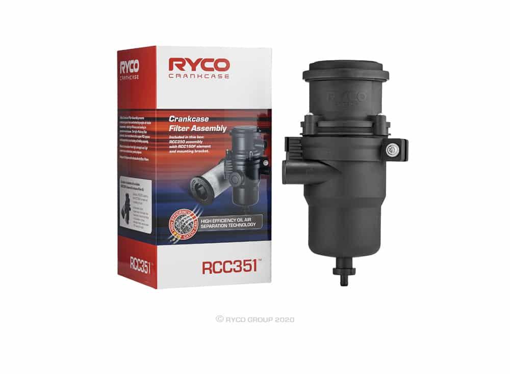 Ryco Catch Can - Diesel Fuel Separator - Holden Colorado RG 2.8L