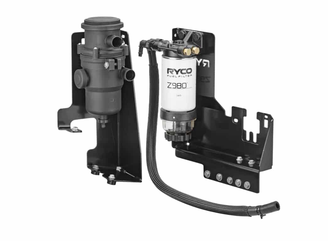 Ryco Catch Can - Diesel Fuel Separator - Toyota Hilux GUN - Fortuner