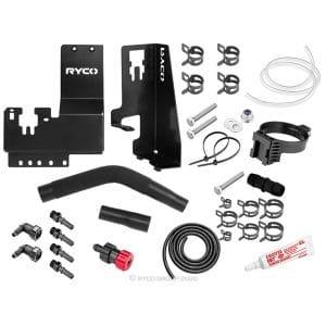 Ryco Catch Can - Diesel Fuel Separator kit - Toyota Hilux GUN - Fortuner
