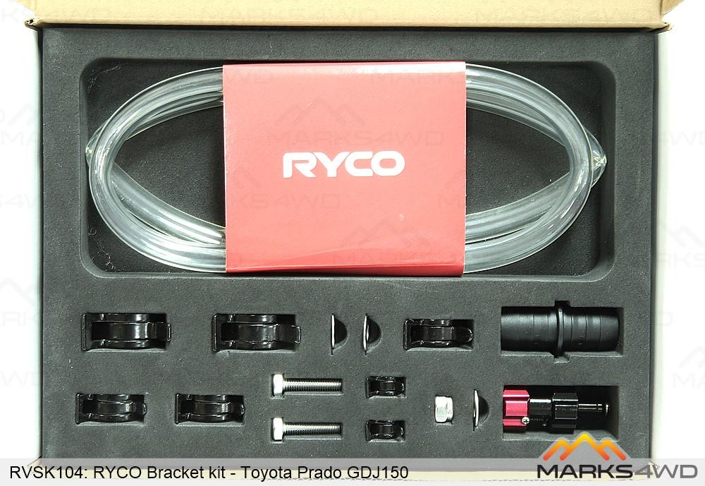 Ryco Catch Can - Diesel Fuel Separator - Toyota Prado GDJ