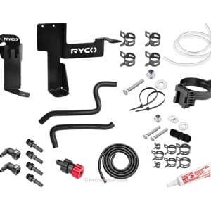 Ryco Catch Can - Diesel Fuel Separator kit - Toyota Prado GDJ