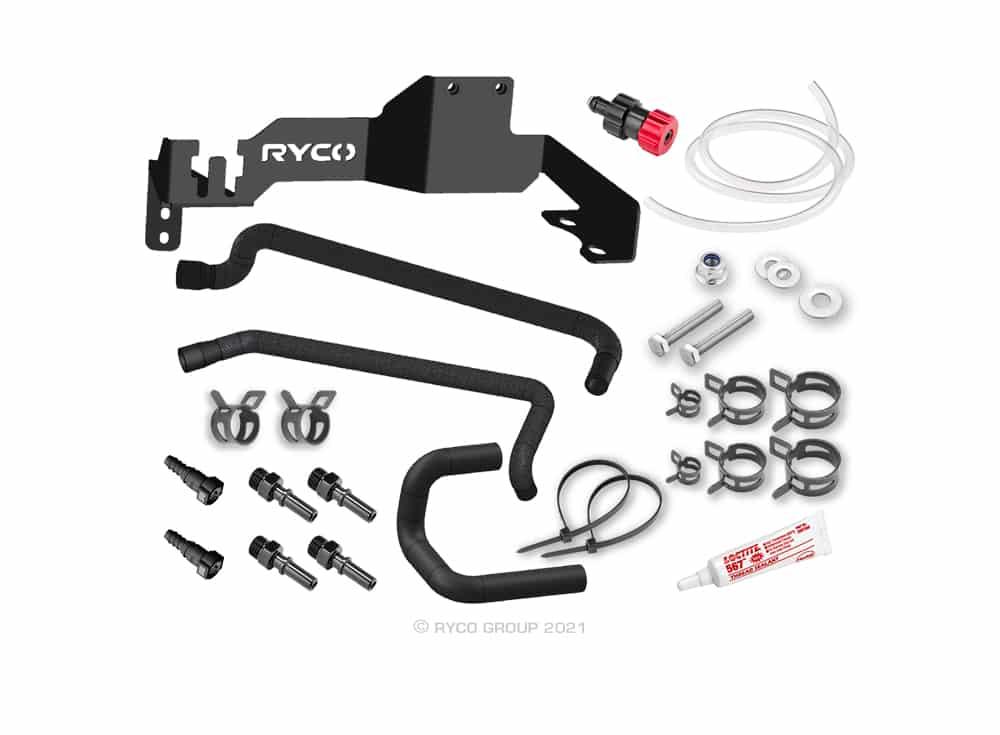 Ryco Catch Can - Diesel Fuel Separator kit - Toyota Landcruiser 200 series