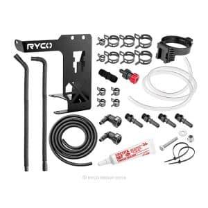 Ryco Catch Can - Diesel Fuel Separator kit - Toyota Landcruiser 70 Series
