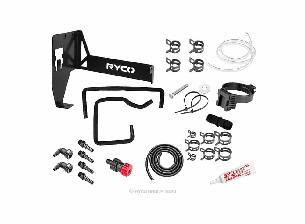 Ryco Catch Can - Diesel Fuel Water Separator - Nissan Navara
