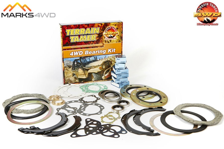 Nissan Patrol GQ Swivel Housing Repair Kit - (Photo is a representation only, this kit will not contain all parts shown)