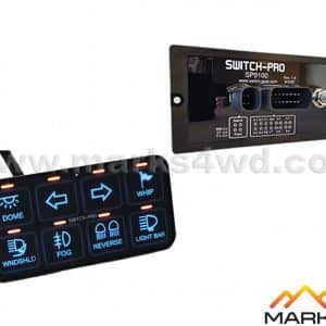 Switch-Pros 8 Switch Panel Power System - Bezel Style SP9100-D