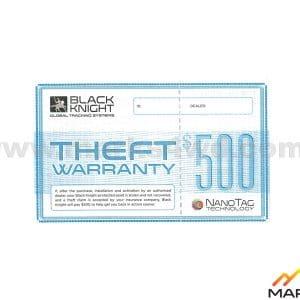 $500 Theft warranty