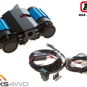 All components included with the CKMTA12 Twin High Output Air Compressor