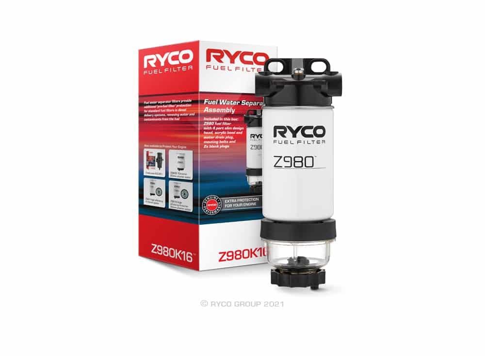 Ryco Catch Can - Diesel Fuel Water Separator - Ranger, Raptor, Everest Biturbo